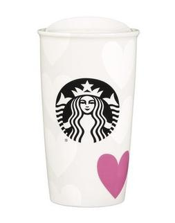 Starbucks 2016 Valentines Day Heart Love Double Wall travell