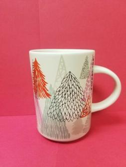 2017 Holiday Collection Ceramic Mug 12oz- Trees