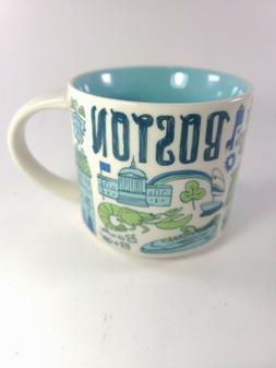 "2018 Starbucks Boston Mug  ""Been There Series"" New w/o Box"
