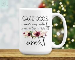 2020 Grad Coffee Mug Personalized Graduation Gift College Gr