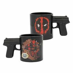 20oz Sculpted Gun Handle Marvel Coffee Mug Tea Cup Gift - De