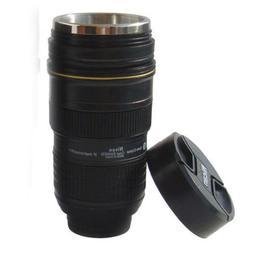 24-70mm AF-S Nikon Camera Lens Zoom Thermos Mug/Cup Coffee/T