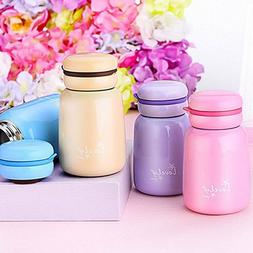 240ML Small Thermos Hot Water Coffee Drink Cups Children Wom