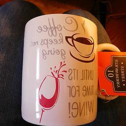 10 Strawberry Street ~ 26 oz. GIANT BARREL COFFEE/WINE MUG/W