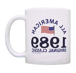 30th Birthday Gifts 1989 All American Classic Patriotic Coff