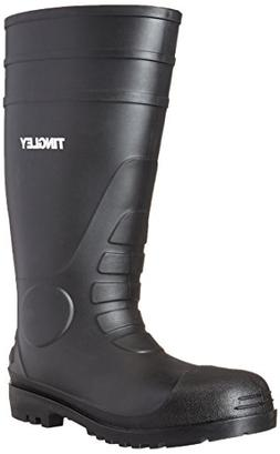 TINGLEY 31151 Oversock Boots, Mens, Size 11, Black, PR