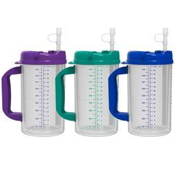 32 oz double wall insulated hospital mugs