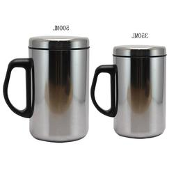 350/500ml Stainless Steel Double Wall Insulated Cup Thermo <