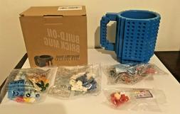 350ml DIY Creative Lego Brick Mug Building Blocks Coffee Cup