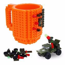 350ml Kids Adult Cutlery Lego <font><b>Mug</b></font> Drink