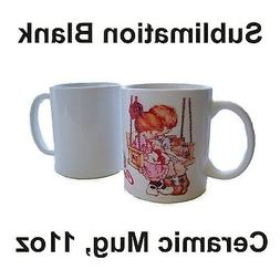 36 White Ceramic Mug Sublimation Blank 11oz Coated Premium f