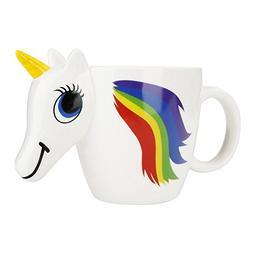 Leegoal 3D Unicorn Mug, Ceramic Color Changing Mug Original