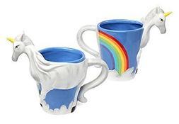 ThinkGeek 3D Unicorn Mug Kitchen Dining Entertaining Drinkwa
