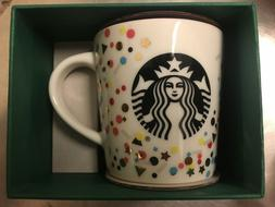 3oz Starbucks Demi Cup Confetti collectors mug limited editi