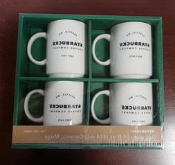 4 Starbucks Coffee Company Est'd 1971 Ceramic Mugs 14 fl oz