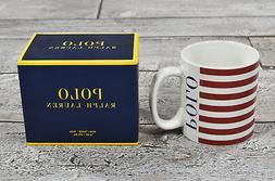 Ralph Lauren Polo USA American Flag Coffee Mugs Set New