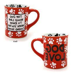 Enesco 4026114 Our Name Is Mud by Lorrie Veasey Dog Love Mug