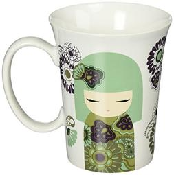 "Enesco 4052714 Kimmi Doll Mie Prosperous Mug, 4.5"", Multicol"