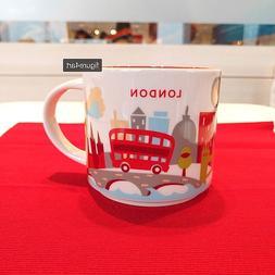 414ml London Starbucks You Are Here Collection Coffee Mug Cu