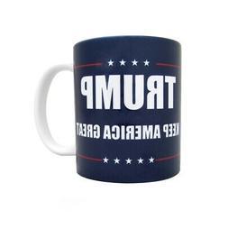 45th US President Donald Trump Coffee Mug Keep USA Great Cup