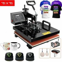 5 in 1 Digital Heat Press Machine Sublimation For T-Shirt/Mu