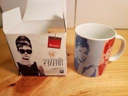 50th Anniversary Breakfast at Tiffany's Coffee Mug Audrey He