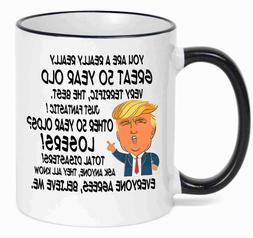 50th Birthday Gift Donald Trump Birthday Mug 50th Birthday P
