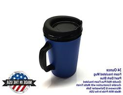 ThermoServ 535A02601A1 Foam Insulated Mug, 34-Ounce, Pearl D