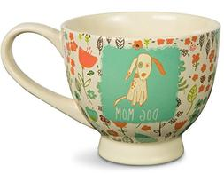 """Pavilion Gift Company 54006 """"A Mother's Love-Dog Mom"""" Floral"""