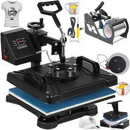 "5in1 12"" x 15"" Heat Press Machine Digital Sublimation T-shir"