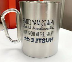 5oz Camping Coffee Mug-Portable-Metal-Hook-Outdoor-Tea-Beer-