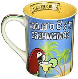 Enesco 6000147 Margaritaville by Our Name Is Mud 5 O' Clock