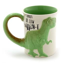 "Enesco 6000549 Our Name is Mud ""Tea Rex"" Stoneware Coffe"