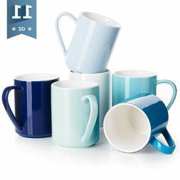 Sweese 603.003 Porcelain Coffee Mug Set - 11 Ounce For Coffe