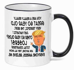 60th Birthday Gift Donald Trump Birthday Mug 60th Birthday P