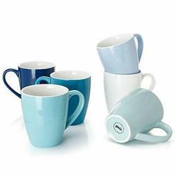 Sweese 6203 Porcelain Mugs - 16 Ounce for Coffee, Tea, Cocoa