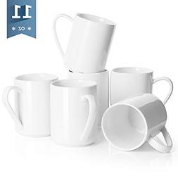 Sweese 6212 Porcelain Coffee Mug Set - 11 Ounce for Coffee,