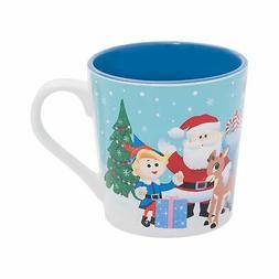 Vandor 65451 Rudolph 12 Oz. Ceramic Mug