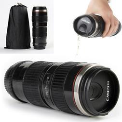 70-200mm Camera Lens Coffee Mug Photo Coffee Cup Stainless S