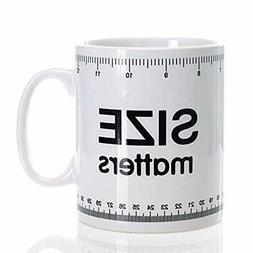 Home Essentials & Beyond 72901 32 oz. Size Matters Mug
