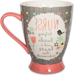 Pavilion Gift Company 74038 Nurse Ceramic Mug, 18 oz, Multic