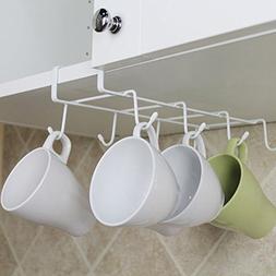 8 Hook Mug Holder Under Shelf Mug Hooks Hanger Coffee Cup Or