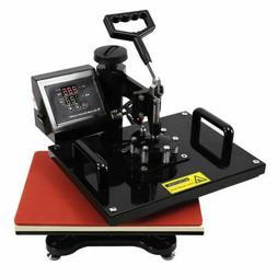 8 in 1 Swing Away Heat Press Machine Transfer Sublimation T-