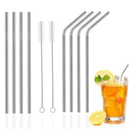 8 Stainless Steel Straws for 30oz 20oz Tumblers Cups Mugs Me