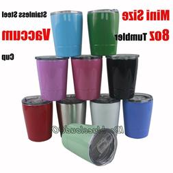 8oz Kids Tumbler Children 304 Stainless Steel Vacuum Insulat
