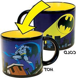 Batman Bat Signal Heat Changing Coffee Mug - DC Comics Offic