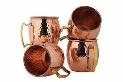 BonBon Luxury Moscow Mule Copper/Nickel Mug Cup 4 pack New