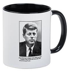 CafePress - JFK Inaugural Quote Mug - Unique Coffee Mug, Cof
