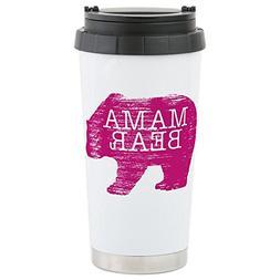 CafePress - Mama Bear Travel Mug - Stainless Steel Travel Mu