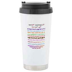 CafePress - What Is OT Top 10 - Stainless Steel Travel Mug,